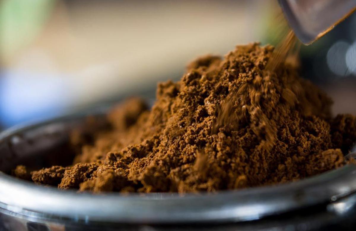 תערובת קפה טחון